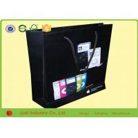 Quality 4 Color OEM Kraft Paper Bags Size 25 X 35 X 10 CM Packaging Christmas Gift With Ribbon for sale