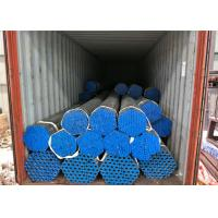 Wholesale Square Round Steel Galvanised Pipe , Hot Dipped Galvanized Pipe 250-300g / ㎡ Zinc Coating from china suppliers