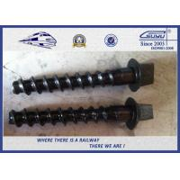 Quality Railway Sleeper Screws Hexagon in Railroad , Track Hex Head Screw for sale
