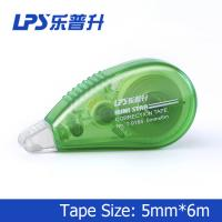 Buy cheap Green Mini Correction Tape , PET Colored Eco Friendly Staples Correction Tape from wholesalers