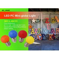 Wholesale Colorful G45 LED Mini Globe 1W For Party and Clubs SEC-L-BX111 from china suppliers