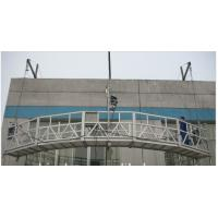 Wholesale Aluminum safe ZLP Suspended Platform Swing Stage 800kg load corrosion - resistant from china suppliers