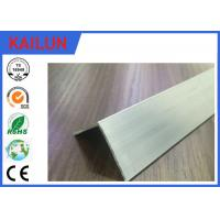 Wholesale 90 Degree Silver / Black Anodised Aluminium Angle With 10 - 15 um Coating Thick from china suppliers