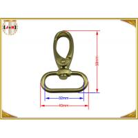 Wholesale Quick Release Brass Plating Swivel Snap Hooks With Oval Ring Environmental Protection from china suppliers