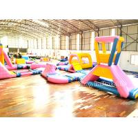 China Exclusive Beach Inflatable Water Parks Lake Floating Water Games For Kids on sale