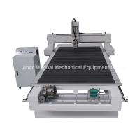 Wholesale 4 Axis CNC Wood Engraving Machine with Rotary Axis Fixed in X-axis from china suppliers