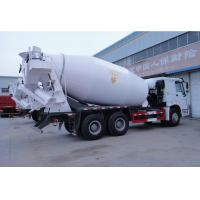 Quality Sinotruk Howo 8m3 concrete cement volumetric mixer truck 6*4 10 wheels for sale