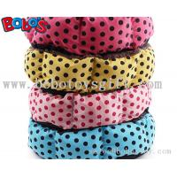 Wholesale High Quanlity Pet Products Polka Dot Pattern Pet Bed for dog cat from china suppliers