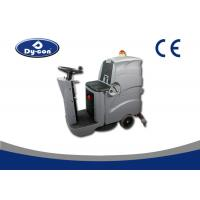 Wholesale Ride On Driving Industrial Floor Cleaning Equipment , Industrial Floor Scrubber Machine from china suppliers