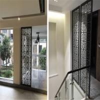 Wholesale building mateiral construction projects decorative laser cut metal panel screen for interior and exterior from china suppliers
