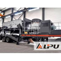 Wholesale High Flexibility Mobile Cone Crushing Plant For Road And Bridge Construction from china suppliers