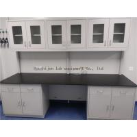 Buy cheap Protecting High Temperature /  All Reagent Epoxy Resin  ChemicaL / Hospital / School All  Steel  Lab Bench Furnitures from wholesalers