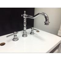 Wholesale Three Holes Installation Kitchen Tap Faucets Made of Low - Lead Brass from china suppliers