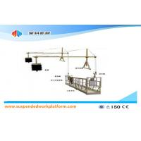 Quality Aluminium Alloy / Steel / Hot Galvanized Suspended Access Equipment ZLP630 for sale
