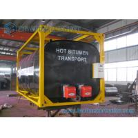 Wholesale ISO Frame Liquid Bitumen Storage Tanks 20 Foot Shipping Container from china suppliers