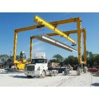 Wholesale RTG (Rubbber Tyre Gantry Crane) Lifting Concrete Beams from china suppliers
