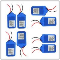 Wholesale 2S2P Li Ion 18650 GPS Battery Pack With 11.1V 2200mAh , High Energy Density from china suppliers