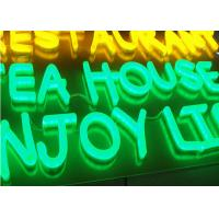 Wholesale Acrylic Retro LED Neon Signs Letters , Bright Neon Business Signs Low Power Consumption from china suppliers