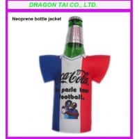Wholesale Neoprene bottle cooler jacket,  bottle cooler bagst, bottle sleeve from china suppliers