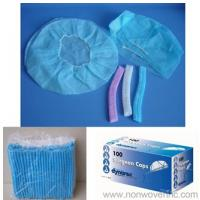Wholesale PP nonwoven Mob Cap, Bouffant Cap, Clip Cap, Surgeon Cap from china suppliers