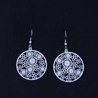 Wholesale Fashion High Quality Ladies Women Girls Stainless Steel Earrings LEF154 from china suppliers