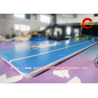 Wholesale 0.55mm PVC Inflatable Air Track Gymnastics , Inflatable Tumble Track from china suppliers