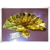 Wholesale Waterproof Gold First Aid Emergency Blanket Thermal Foil Rescue Against Hypothermia from china suppliers