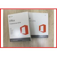 Wholesale Original Key Activation Online Microsoft Office 2016 Pro Plus 32Bi / 64Bit For 1 Windows PC from china suppliers