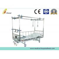 Wholesale Two Column Type Orthopedic Traction Bed Hospital Vertebra 3 Crank Bed (ALS-TB02c) from china suppliers