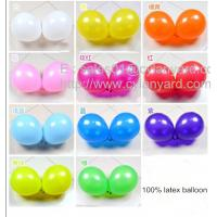 Wholesale Glossy latex balloon for party decoration, pearl colored balloons for holiday from china suppliers