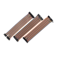 Wholesale Copper PVC 10cm 20cm Breadboard Jumper Cable Male To Female from china suppliers