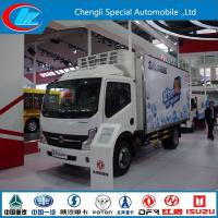 Wholesale dongfeng kaipute130hp refrigerator truck for fresh vegetable and meat, factory sale good price dongfeng cold room truck from china suppliers