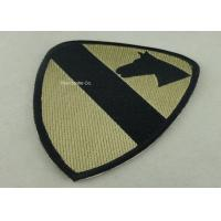 Wholesale Heat Cut Custom Embroidery Patches with Hot Melt Adhesive 10 mm Thickness from china suppliers