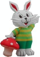 Wholesale Commercial Advertising Inflatable Cartoon , Inflatable Stuffed Plush Animals from china suppliers