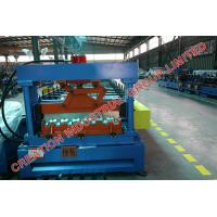 Wholesale Galvanized Floor Deck Corrugated Roll Forming Machine With Mitsubishi PLC Control from china suppliers