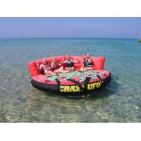 Wholesale Crazy Ufo Towable Inflatables / Adults And Child Inflatable Water Sport Games from china suppliers