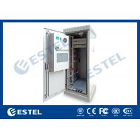 Wholesale Custom Outdoor Telecom Cabinet , Telecom Equipment Cabinet With Air Conditioner from china suppliers
