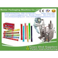 Wholesale High speed ice lolly packing machine,ice lolly packaging machine with touch screen and date printing machine from china suppliers