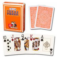 Wholesale XF Italy Modiano Texas Poker 2 Jumbo Index|orange Single Card Deck|100% Plastic Playing Cards|gamble cheat|pokercheat from china suppliers