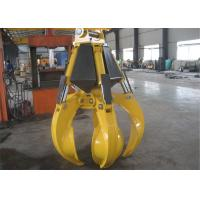 Wholesale High Efficient Orange Peel Electro Hydraulic Grabs 17 Ton - 23 Ton from china suppliers