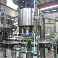 Zhangjiagang Factory carbonated soft drink filling machine/bottle soda water production line plant (SUS304)