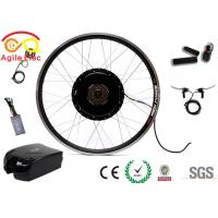 Quality High Efficiency E Bike Front Wheel Kit , Electric Motor Controller Kit 28kph Speed for sale
