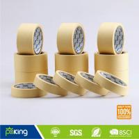 Wholesale Medium Temperature Resist Crepe Paper Masking Tape with Factory Price from china suppliers
