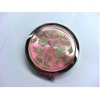 Wholesale Custom Shaped Pocket Make Up Mirrorr For Travel , Eco Friendly Vintage Compact Mirror from china suppliers