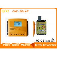 Wholesale 50A PWM Solar Charge Controller 12V / 24V / 48V Solar Battery Charging Controller from china suppliers