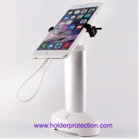 Wholesale COMER clip stand phone display product security cradle pedestal for exhibitions with internal cable from china suppliers