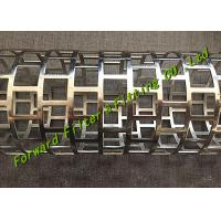 Wholesale New technogy One-time forming mould for square hole perforated Tube SS304 / 316 material option available from china suppliers