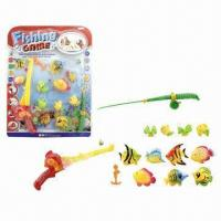 Buy cheap 13 Pieces Plastic Battery-operated Fish Toys, Carton Sized 58 x 43.5 x 9cm from wholesalers