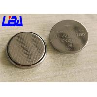 Wholesale Original Cr2032 Coin Cell Battery , 3V Cr2025 Lithium Battery 20 * 3.2mm from china suppliers