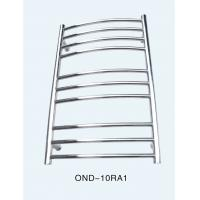 Wholesale Bathroom ladder type wall hung metal heating towel rack electric towel warmer from china suppliers